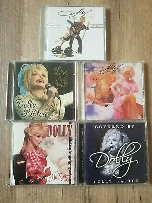 Dolly Parton 5 CD Lot large collection