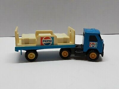 """Buddy L vintage Pepsi Tractor Trailer toy 1970s Hong Kong  6""""L 2""""W 2""""1/2 T"""
