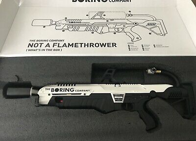 The Boring Company Not-A-Flamethrower