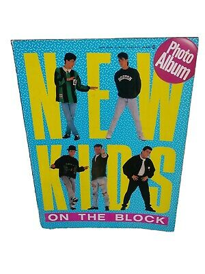 New kids on the block Photo book
