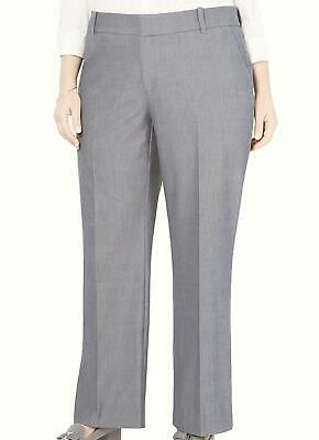 Charter Club Womens Pants Gray Size 20W Plus Dress Relaxed Stretch $79 339