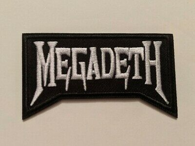 Megadeth Embroidered Iron-on Thrash Metal Band Patch