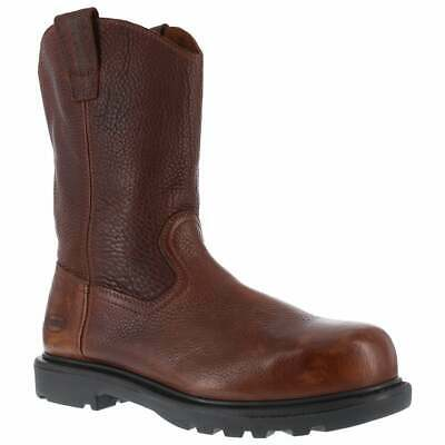 Iron Age Hauler 11in Wellington  Casual   Work & Safety - Brown - Mens