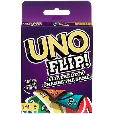 UNO FLIP Card Game by Mattel NEW!! FREE SHIPPING!