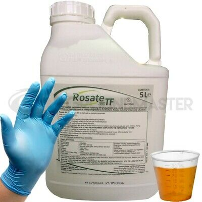 Rosate 360 TF Glyphosate Weedkiller 1 x 5 Litre Strong Professional Herbicide CG