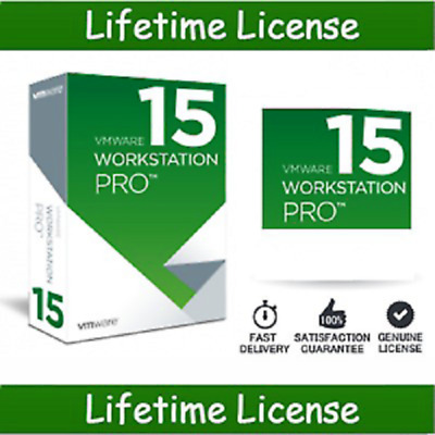 VMware Workstation Pro 15.5 Full Version Lifetime 5 PC Fast Delivery