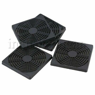 5pcs 120mm Computer PC Dustproof Cooler Mesh Case Dust Filter Cover Guard Grill