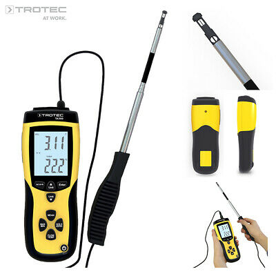 TROTEC Thermoanemometer TA300 | Anemometer Windmessgerät Windmesser Volumenstrom