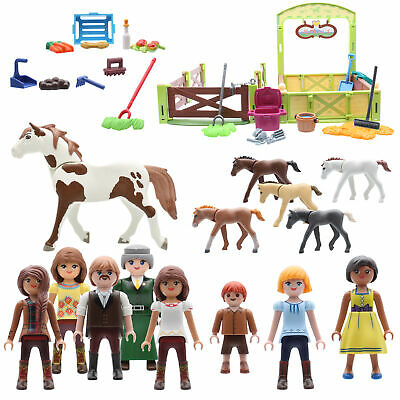 Playmobil 9478 Dream Works Spirit Riding Free Pferdestall Figuren Pferd Fohlen