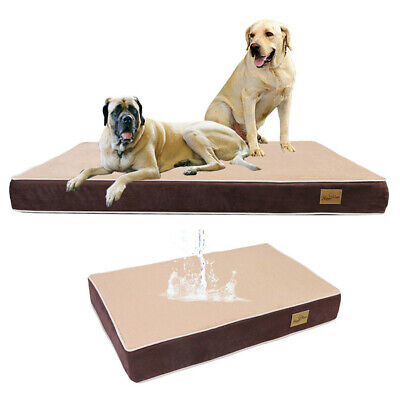 XXXL Orthopedic Dog Bed Mattress Pet Cushion Crate Memory Foam Reduce Joint Pain