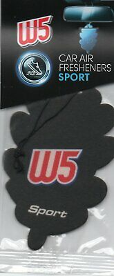 W5 - Car Air Freshener - Sport                                  *New And Sealed*