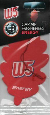 W5 - Car Air Freshener - Energy                                 *New And Sealed*