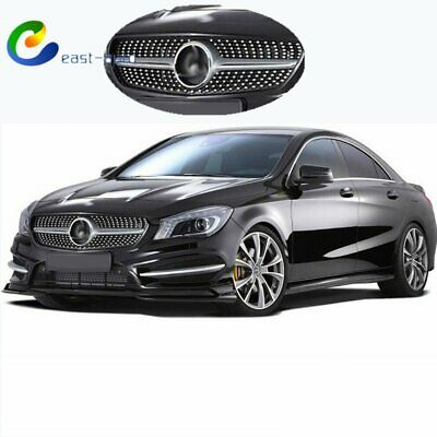 ABS 14-18 Mercedes CLA-Class W117 Painted Matte Black Side Skirts Cover