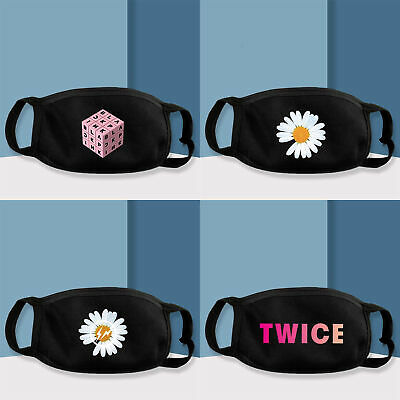 Kpop Blackpink Twice GD G-Dragon Bigbang Face Mask Mouth Muffle Cover New