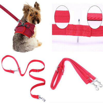 Police Style Dog Training Lead Double Ended Obedience Leash Multi-Functional LY