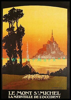 TX180 Vintage Mont-Revard Winter Sports French France Travel Poster A3//A4