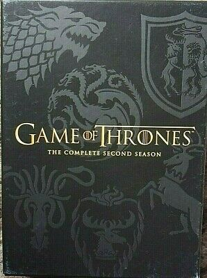 Game Of Thrones - Season 2 - Complete (DVD, 5-Disc Box Set)