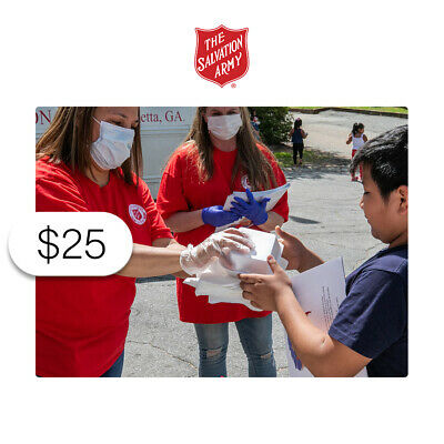 $25 Charitable Donation For: Helping Those Impacted by Crisis