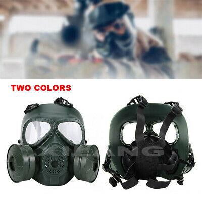 Double Filter Fan Gas MK CS Edition Perspiration Dust Eye Face Protector Guard