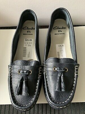 Brand New Clarks Black women's shoes size 5 1/2 UK