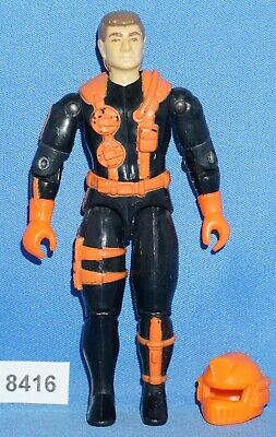 GI Joe Figure Accessory 1993 Wet-Suit   Sea Sled Launcher with Missiles WORKS!