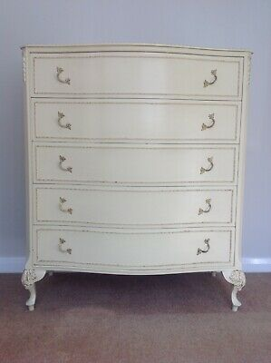 Louis XV French Style Chest Of Drawers, Olympus Furniture