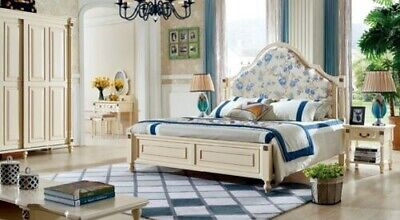 Double Bed Beds Royal Colonial Founder Antique Style Classic Bed Hotel