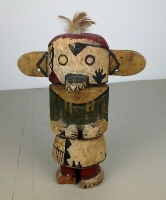 old Hopi doll - Kachina 10 inch old Germany collection