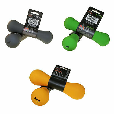 Phoenix Fitness 2 x Neoprene Dumbbell Weight for Arms and Hands, Home and Gym