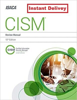 CISM Review Manual 15th Edition ✔ Instant Delivery