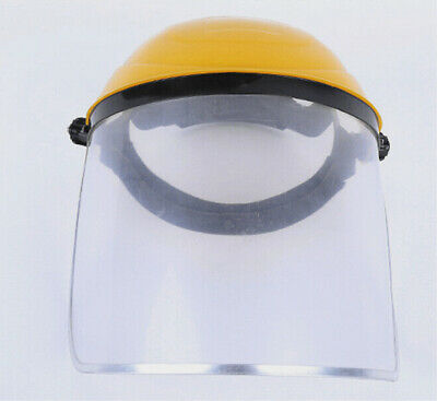 Clear Flip Up Visor Full Face Shield Cover Oil Fume Protection Safety Work Guard