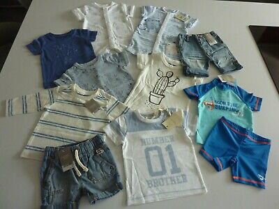 NEXT Baby Boys Clothing Bundle Size 3-6 Months ALL NEW WITH TAGS 11 ITEMS