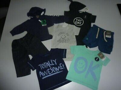 NEXT Baby Boys Clothing Bundle Size 3-6 Months ALL NEW WITH TAGS  8 ITEMS