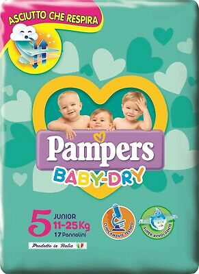 PAMPERS BABY DRY  - JUNIOR MIS. 5 (11- 25 kG) PZ 136