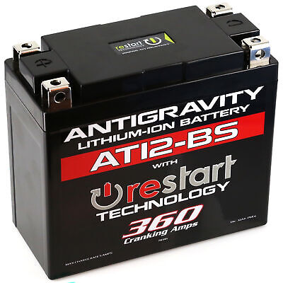 Restart Lithium Battery AT12BS-RS 360 CA Antigravity AG-AT12BS-RS