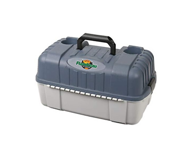 Large Fishing Tackle Box With 7 Tray Full Travel Holder Pack Handle-Locking 1 Pc
