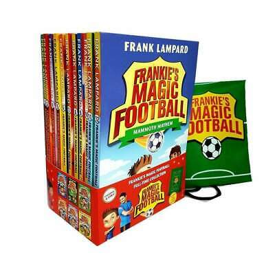 Frankies Magic Football Collection Frank Lampard 12 Books Set Pack With Bag NEW