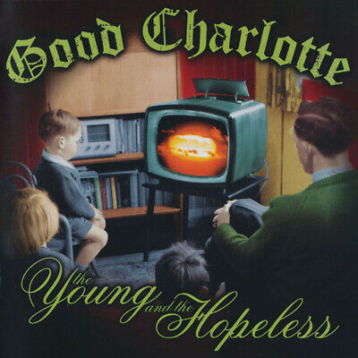 Good Charlotte-The Young And The Hopeless CD Album 2002 Enhanced