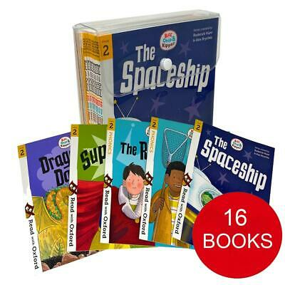 Biff, Chip and Kipper Stage 2 Read with Oxford 4+ 16 Books Collection Set Pack