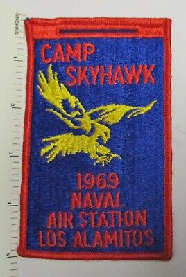 NAVAL AIR STATION NAS LOS ALAMITOS CA USS US NAVY PATCH JOINT RESERVE CENTER WOW