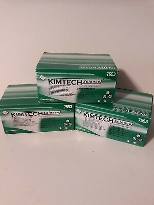 AmScope Kimtech Science  2 BOX LOT  KimWipes Delicate Task Wipers