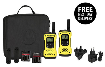 Motorola Talkabout T92 H20 Twin Pack with Charger