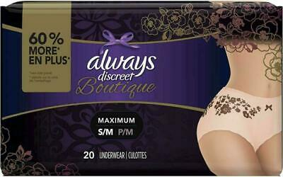 Always Discreet Boutique, Incontinence and Postpartum Underwear for Women, 20 2
