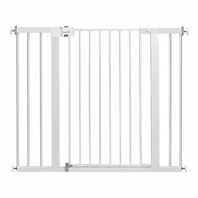 Safety 1st Easy Install Extra Tall and Wide Baby Gate with Pressure Mount Pack