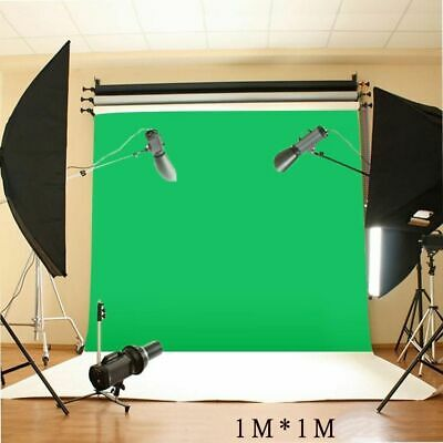 Green Screen Chromakey Photo Backdrop Studio Reflector Background Stand Kit Bag