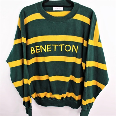 Vintage United Colors of Benetton Stripe Sweater