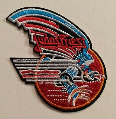 Judas Priest Embroidered Iron-on Heavy Metal Band Patch
