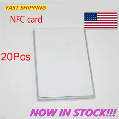 20 NTAG215 NFC Card Blanket Tag For Android N215 Chip Read Write TagMo Amiibo US