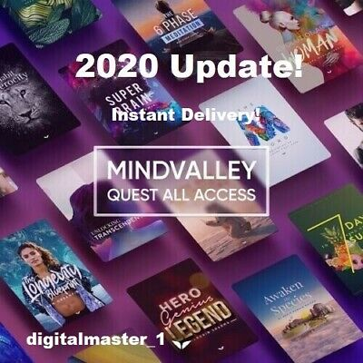 Mindvalley Quest All Access Updated 2020 Lifetime Access Fast Delivery ✔