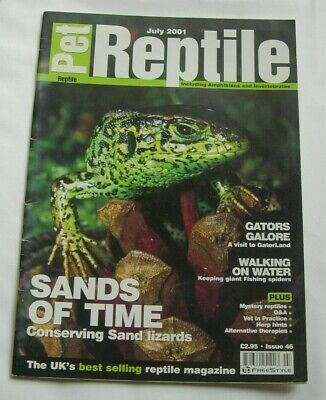 Pet Reptile magazine Issue 46, July 2001